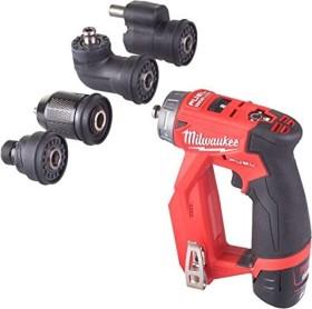Milwaukee M12 FDDXKIT-202X cordless screw driller incl. case + 2 Batteries 2.0Ah + Accessories (4933464979)