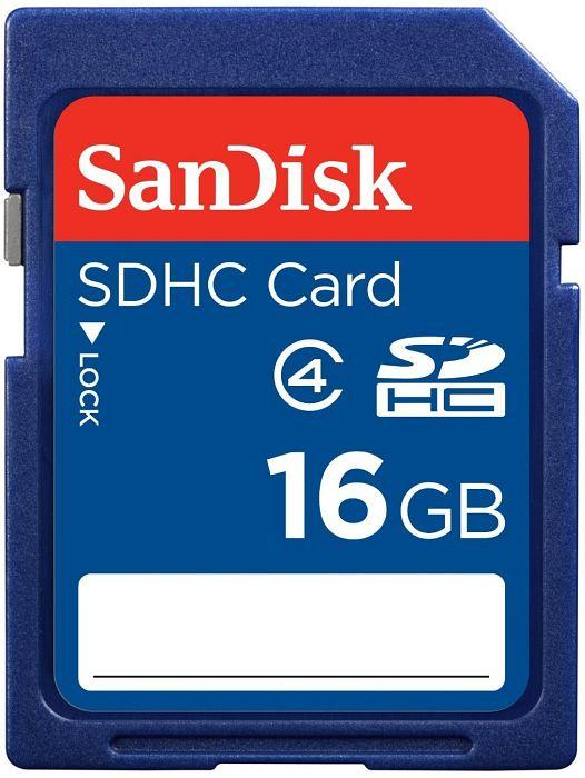 SanDisk SDHC 16GB, Class 4 (SDSDB-016G-B35)