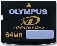 Olympus xD-Picture Card type S 64MB (N1732292)