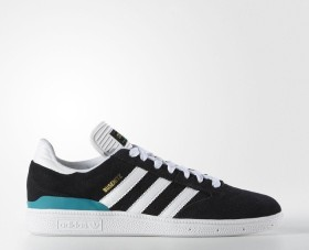 adidas Busenitz core black/white/green (Herren) (F37340)