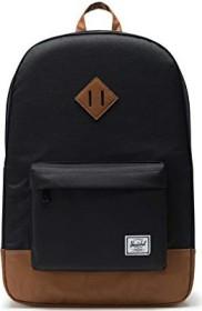 Herschel Heritage black/tan synthetic leather (10007-00055)