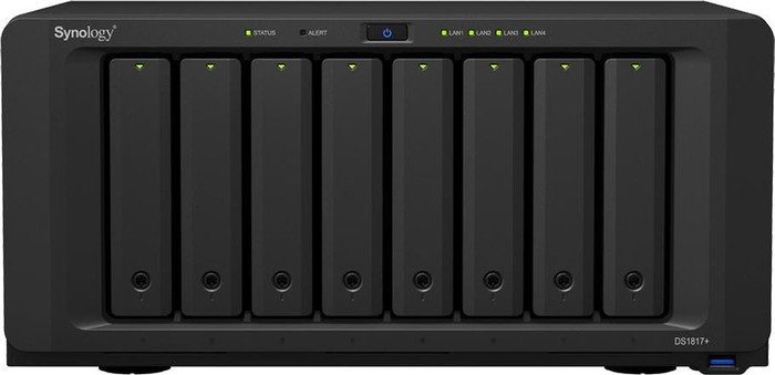 Synology Diskstation DS1817+ 64TB, 2GB RAM, 4x Gb LAN