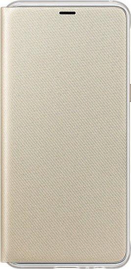 Samsung EF-FA530PF Neon Flip Cover für Galaxy A8 (2018) gold
