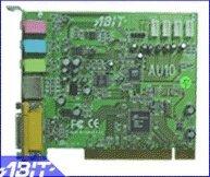 ABIT AU-10 Home theatre AC-3 audio Card, remote control