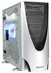 Thermaltake Aguila silver with side panel window (VD1000SWA)