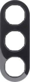 Berker Serie R.classic Rahmen 3fach, schwarz (10132045)