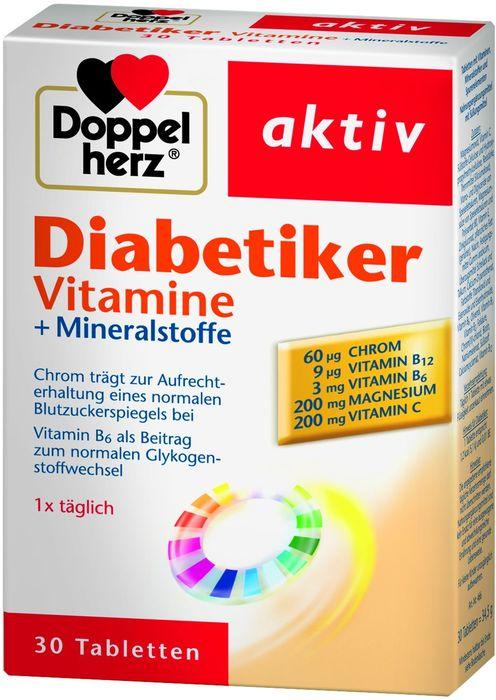 doppelherz diabetiker vitamine 30 st ck heise online. Black Bedroom Furniture Sets. Home Design Ideas