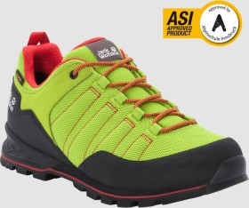 Jack Wolfskin Scrambler Lite Texapore Low lime/red (Herren) (4035321-4176)