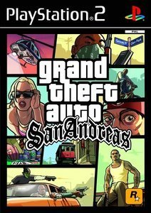 Grand Theft Auto (GTA) - San Andreas (niemiecki) (PS2)