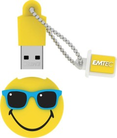 Emtec SW108 Smiley World Hawaii-Edition Mr Hawaii gelb 8GB, USB-A 2.0 (ECMMD8GSW108)