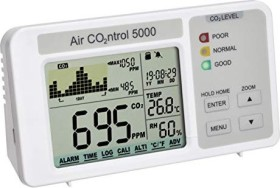 Dostmann electronic AirCO2ntrol 5000 CO2 Luftmessgerät Datalogger (5020.0111)