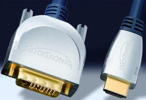 Clicktronic HC270 HDMI/DVI-D Kabel 3m (HC270-300)