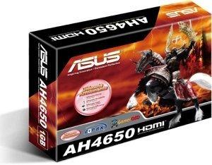 ASUS AH4650/DI/1GD2, Radeon HD 4650, 1GB DDR2, VGA, DVI, HDMI (90-C1CN40-L0UAN0KZ)