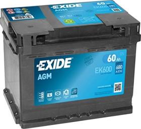 Exide AGM EK600