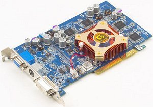Gigabyte Maya II Radeon 9600, 128MB DDR, DVI, TV-out, AGP (GV-R96128D)
