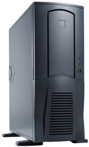Chieftec Scorpio TX-10BD, Midi-Tower with door, black (various Power Supplies)