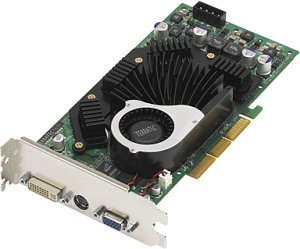 TerraTec Mystify 5700 Ultra, GeForceFX 5700 Ultra, 128MB DDR2, DVI, TV-out, AGP