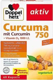 Doppelherz Curcuma 750 Kapseln, 60 Stück
