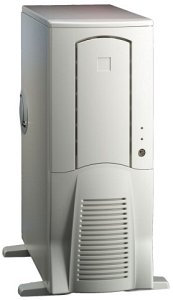 Chieftec Scorpio TX-10WD, Midi-Tower with door, white (various Power Supplies)