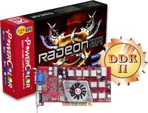 PowerColor Radeon 9800 Pro, 256MB DDR2, DVI, TV-out, AGP (R98-D3)