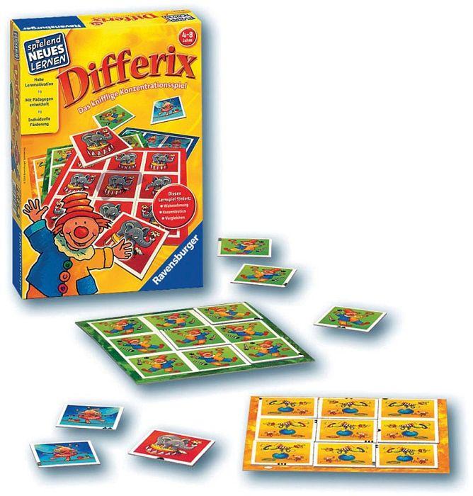 und Legespiel Differix 24930 Ravensburger Spielend Neues Lernen Konzentrations