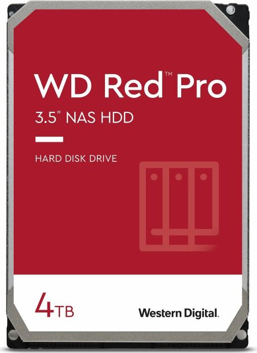 "Western Digital WD Red Pro 4TB, 3.5"", SATA 6Gb/s (WD4002FFWX)"
