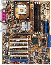 ASUS P4PE, i845PE (PC-2700 DDR)