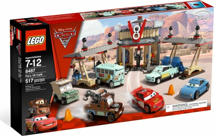 LEGO Cars - Flo's V8 Café (8487) -- via Amazon Partnerprogramm