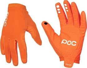 POC AVIP Fahrradhandschuhe lang zink orange