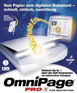Nuance: OmniPage Pro 10.0 (X) (German) (MAC) (9401P-W00-10.0)