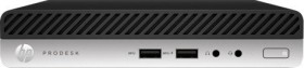 HP ProDesk 400 G4 DM, Core i3-8100T, 8GB RAM, 256GB SSD, Windows 10 Pro (4CZ91EA#ABD)