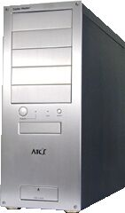 Cooler Master ATC-100 Midi-Tower aluminum (various colours, without power supply)