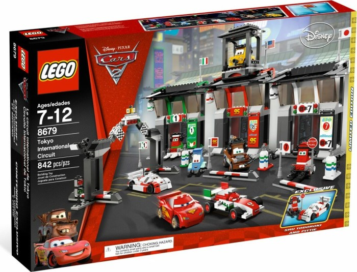LEGO Cars - Großes Wettrennen in Tokio (8679) -- via Amazon Partnerprogramm