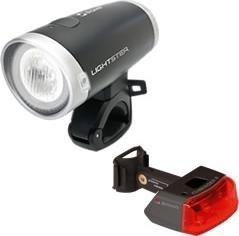 Sigma Sports Lightster + Cuberider II light set (18420) -- ©Sigma Sport