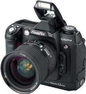 Fujifilm FinePix S2 Pro schwarz Gehäuse (40480117)