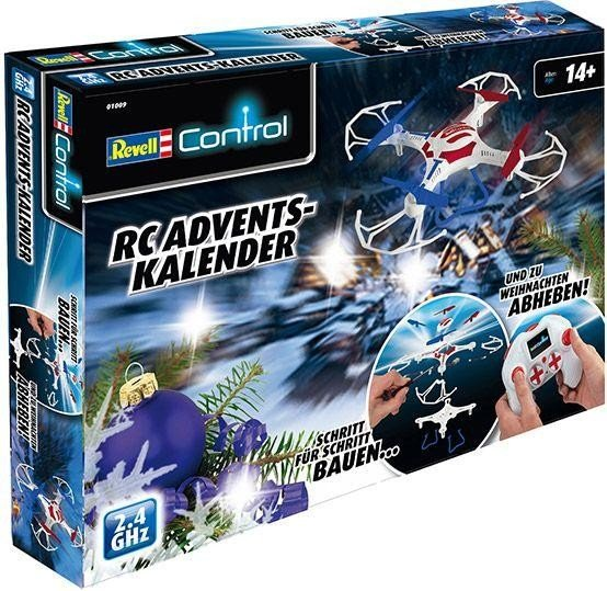 Weihnachtskalender Revell.Revell Control Rc Quadrocopter Advent Calendar 2016 01011