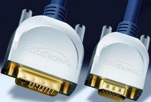 Clicktronic HC220 DVI-I/VGA Kabel 20m (HC220-2000)