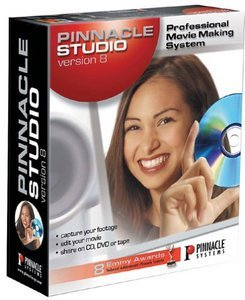 Pinnacle Studio 8.0 (angielski) (PC)
