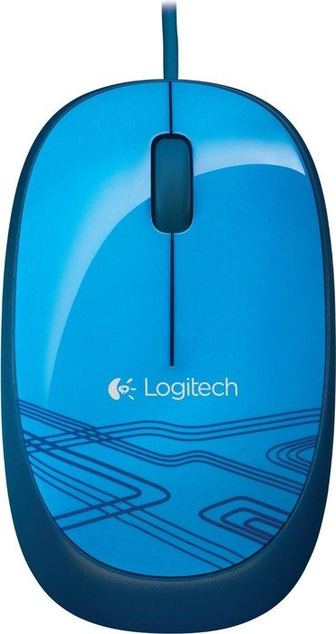 Logitech M105 Optical Mouse blau, USB (910-003105)