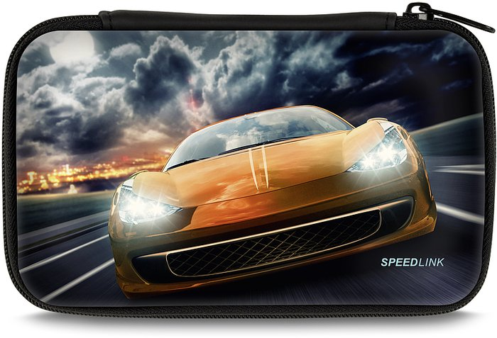 Speedlink Caddy Protection case for Nintendo 3DS, Racer (DS)