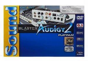 Creative Sound Blaster Audigy 2 Platinum, FireWire, retail