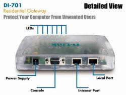 D-Link DI-701 Residental Gateway