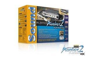 Creative Sound Blaster Audigy 2 Platinum eX FireWire retail