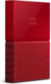 Western Digital WD My Passport Portable Storage rot 2TB, USB 3.0 Micro-B (WDBS4B0020BRD-WESN)
