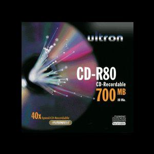 Ultron CD-R 80min/700MB, 100-pack