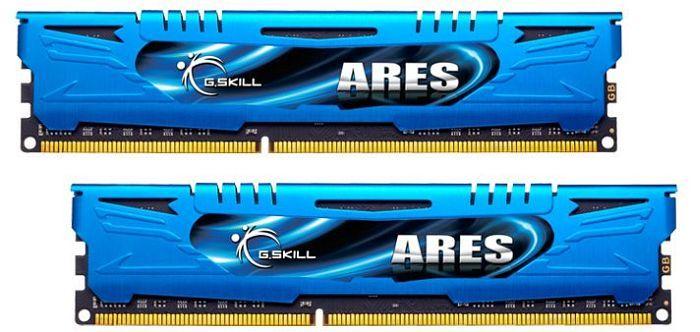 G.Skill Ares DIMM kit 8GB, DDR3-2400, CL11-13-13-31 (F3-2400C11D-8GAB)