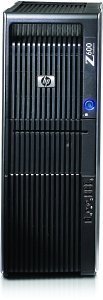 HP Workstation Z600, Xeon DP E5620, 8GB RAM, 1000GB, Windows 7 Professional (KK692ET)