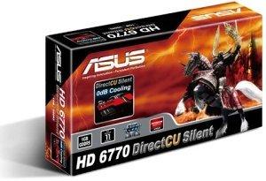 ASUS EAH6770 DC SL/2DI/1GD5 DirectCU Silent, Radeon HD 6770, 1GB GDDR5, VGA, DVI, HDMI (90-C1CRB0-L0UAY0BZ)