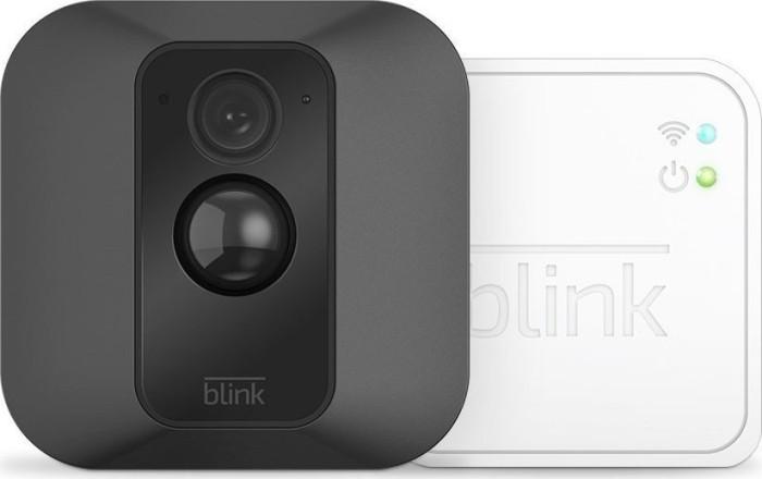 Blink XT Outdoor Kamera schwarz + Sync-Modul, Set (B1SX1M11)