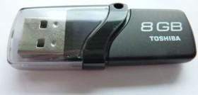 Toshiba TransMemory Ginga 8GB, USB-A 2.0